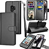 Tekcoo Compatible for Galaxy S9 Wallet Case/Samsung Galaxy S9 PU...