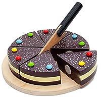 Schokoalarm! Nimm die Torte vorsichtig aus dem Backofen deiner Kinderküche. Nur nicht runter werfen... Wenn du diese Schokoladentorte servierst kommen deine Gäste sicher sofort zur Kaffeetafel gerannt. Mit dem beiliegenden Messer kannst du sehr leich...