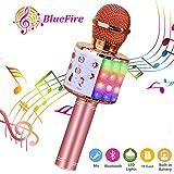BlueFire Wireless Karaoke Microphone 4 in 1 Bluetooth Wireless Karaoke Microphone Portable Handheld