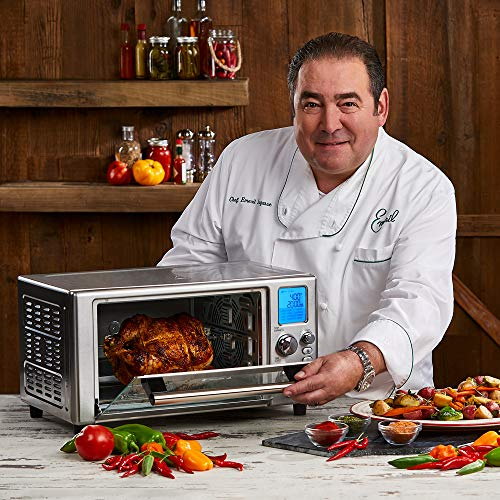 Emeril Lagasse Power Air Fryer 360 Better Than Convection Ovens | Hot Air Fryer, Toaster, Bake, Broil, Slow Cook