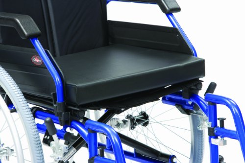 Drive  Vinyl Wheelchair Cushion, L16 Inch X W22 Inch X D2 Inch