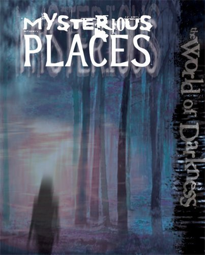 World of Darkness Mysterious Places Sourcebook HC NEW RPG