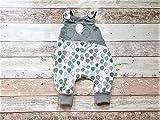 Baby Strampler Babyhose Overall Latzhose Babykleidung Frühchen Newborn Erstlingsausstattung Füßchen Knopfleiste Junge Mädchen Ballon