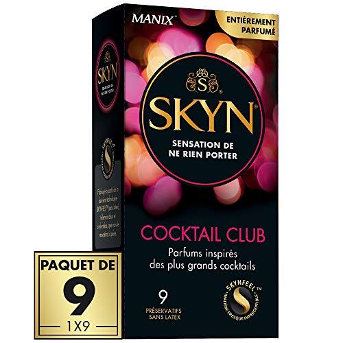 SKYN COCKTAIL CLUB - 9 préservatifs Parfumés