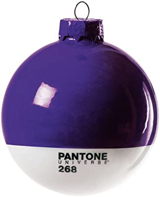 Seletti Ball Glass Christmas-Pantone 268 cm Diameter.8 – Purple