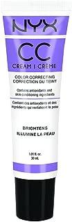 NYX Cosmetics Color Correcting CC Cream CCCR04 - Lavender - Medium / Deep
