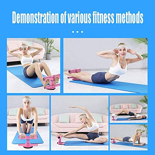 CHENWEN Sit up bar - self-Suction sit up equiment Floor - Portable Adjustable Household Fitness Equipment sit up Bench Abdominal Muscle Toner for Home Workouts Not for Wooden Floor
