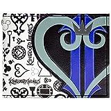 Cartera de Kingdom Hearts Símbolos y corazón del Logotipo Negro