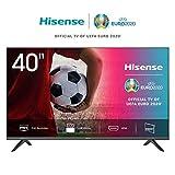 Hisense FHD TV 2020 40AE5000F - Feature TV Resolución Full HD, Natural Color Enhancer, Dolby Audio, HDMI, USB, Salida auriculares