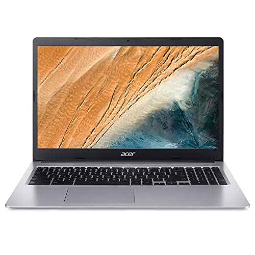 Acer Chromebook CB315-3H-C417 Ordinateur Portable 15.6'' HD (Celeron N4000, RAM 4 Go, 32 Go eMMC, Chrome OS) Clavier AZERTY Français