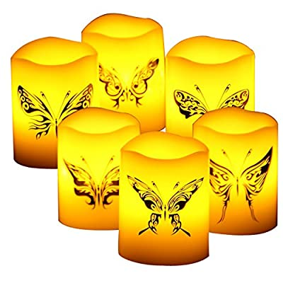 Wax LED Flameless Candles