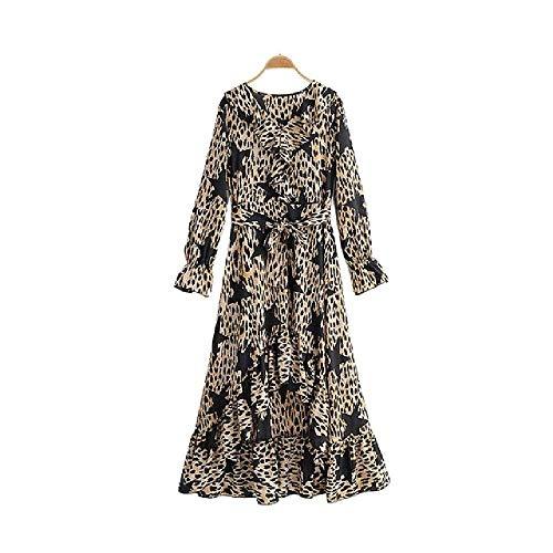 Vestido Estampado Leopardo LasMujeresEstampado