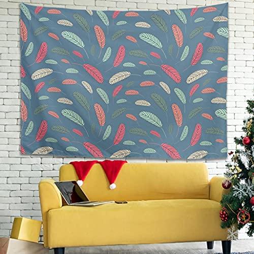 Tapiz de dibujos animados con diseño de temor para colgar en la pared en el dormitorio, manteles de pared, color blanco, 200,7 x 149,8 cm