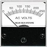 Blue Sea Systems 8244 AC Analog Micro Voltmeter, 2' Face, 0-150 Volts AC