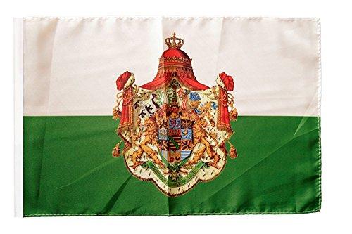 Flaggenfritze® Flagge Deutschland Königreich Sachsen 1806-1918 - 30 x 45 cm