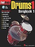 Fasttrack - drums 1 - songbook 1 batterie +cd (Fasttrack Series)