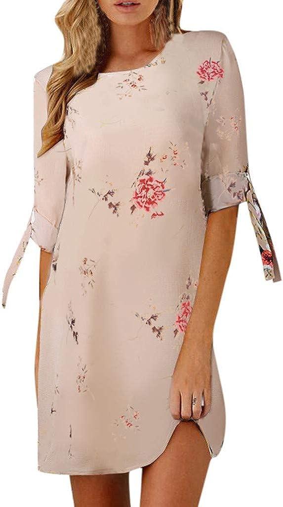 TOTOD Womens Dress - Casual Elegant Floral 2 Bowknot Fees Free shipping free Print 1 Sle