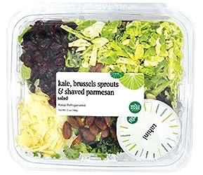 Whole Foods Market, Kale, Brussels Sprouts & Shaved Parmesan Salad, 12 oz