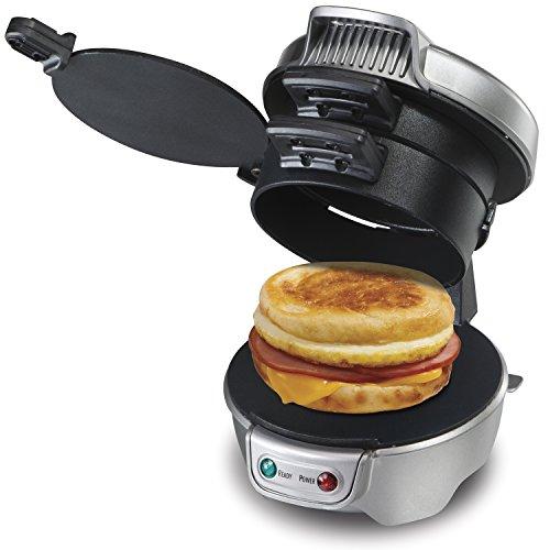 Breakfast Sandwich maker エッグマフィンメーカー HML01S 銀