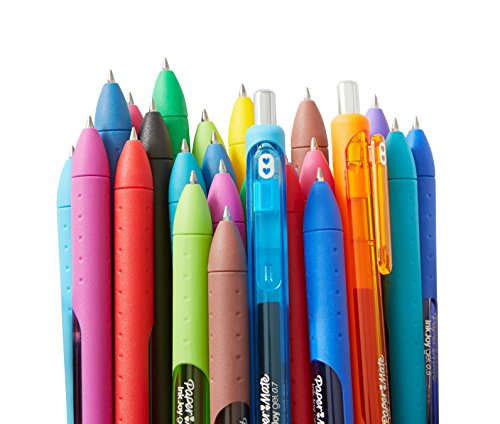 Paper Mate Inkjoy Gel Pens, Medium Point, 2-Pack, Black (1951634)