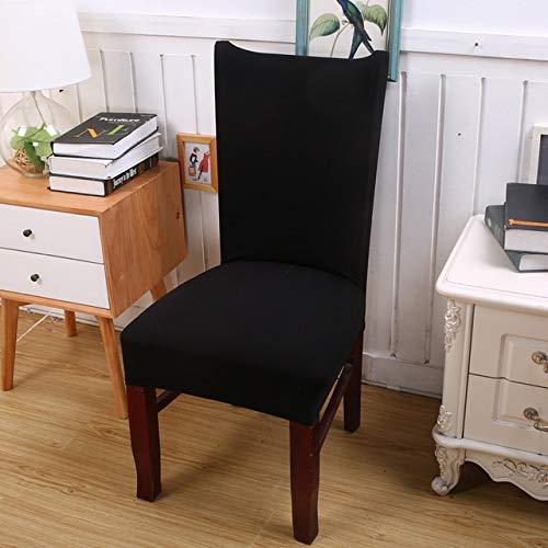 ShiyueNB Afneembare spandex stretch elastische stoelrughoezen eetkamer bruiloftsbanket stoelhoezen wasbaar stoelhoes universal Hayes