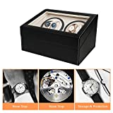 Zoom IMG-2 watch winder gifort scatola carica