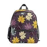 Mochila infantil para niños de 1 a 6 años de edad, mochila perfecta para niños y niñas arces de kindergarten, amarillo, morado, azul, color oscuro