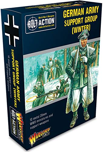 Bolt Action Warlord Games German Army Support Group (Winter) (402212009)