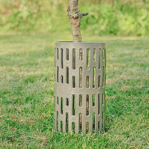 Cakunmik 2 Stück Strauch-/Baumschutz-Gitter-Röhre, Baumschutzhülle Stammschutz, Fege- Und Verbissschutz, Manschette Zum Schutz Vor Mechanischer