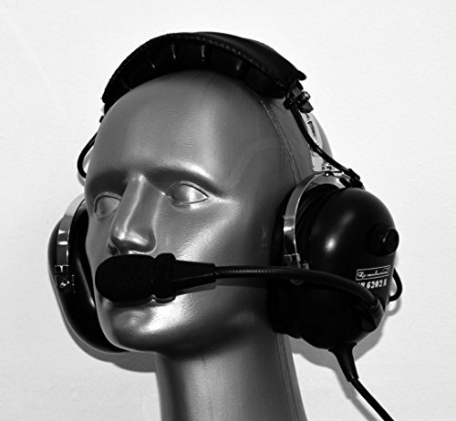 Rosenbaum Aviation ® Piloten ANR Headset AH 6202 S aktiv Helikopter U-174/U