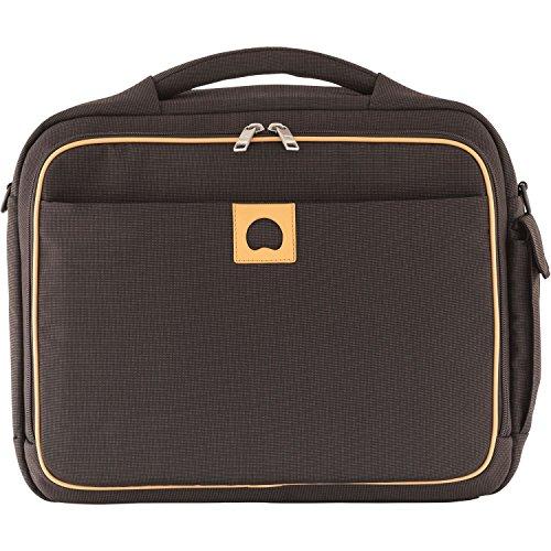 Delsey Montholon cartella portadocumenti 40 cm compartimenti portatile marrone