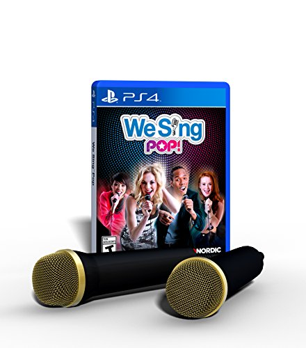 We Sing Pop! 2-Mic PS4 Bundle Edition