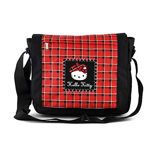 Target Hello Kitty Messenger Bag, Red (Rosso/Nero)