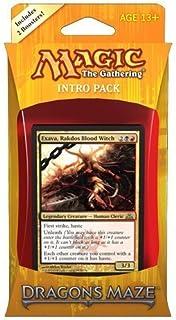 Magic the Gathering (MTG) Dragon's Maze Intro Pack: Rakdos Revelry (Includes 2..