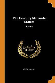 The Henbury Meteorite Craters: V.8 N.9