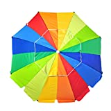 Best Beach Umbrella 8fts - Shadezilla 8 ft Platinum Heavy Duty Beach Umbrella Review