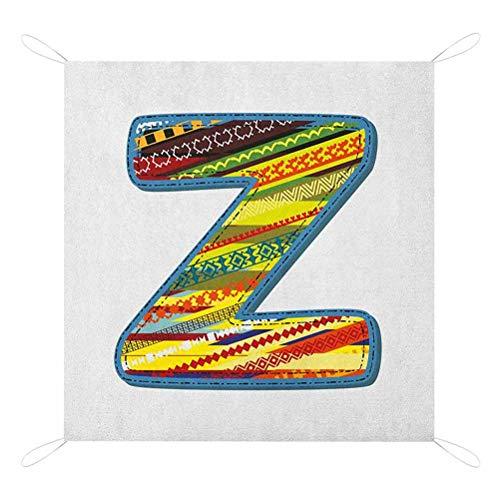 Purchase Nomorer Letter Z Beach Blanket Sandproof, Z Letter Celebration First Name of Birthday Girls...