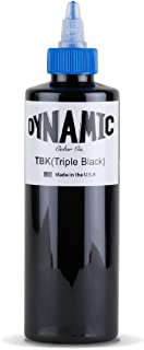 Dynamic Color Triple Black Tattoo Ink (8oz)