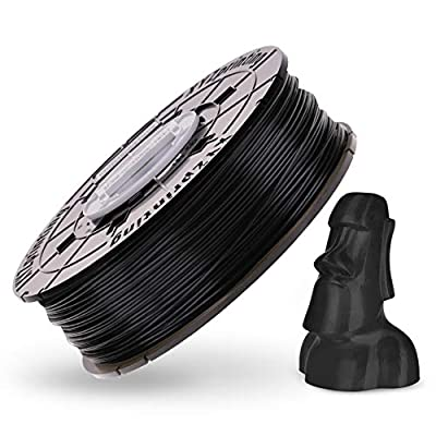 XYZ Printing RFPLCXEU05E PLA Filament, 1.75mm OD, 600 g NFC Spool, Black