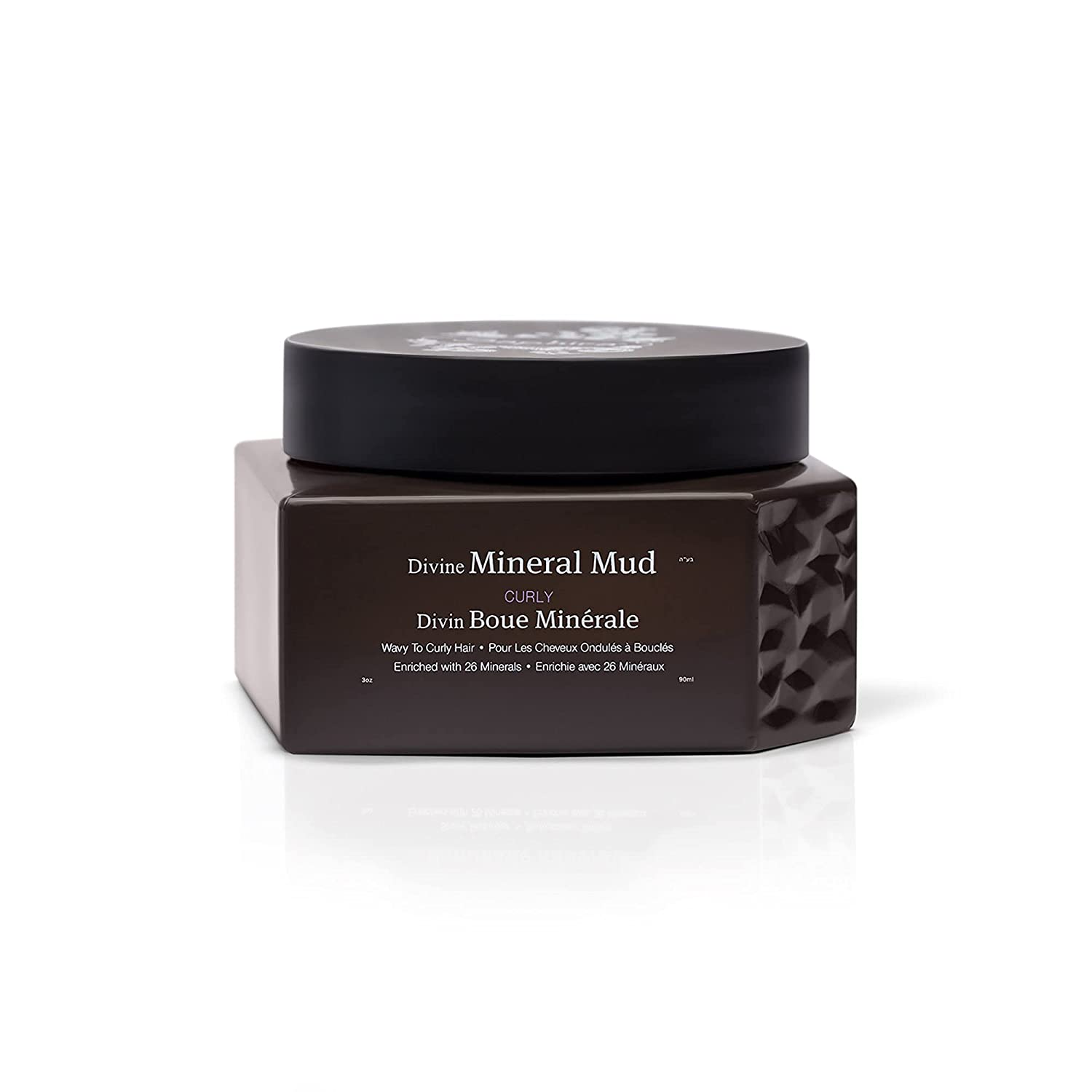 SAPHIRA Divine Mineral Mud for Curly and Wavy Hair, 3 oz: Premium Beauty