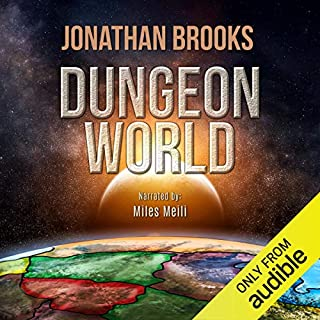Dungeon World audiobook cover art