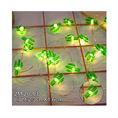 LED Kupferdraht Lichterkette Batterie Betriebene Wasserdicht Warmweiß Lichterketten für Innenräume Draußen für Zimmer, Party, Hochzeit, 2 M 20 Leds