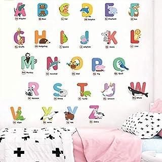 Wall Tattoo Alphabet nursery letter gifts for enrolment Holding Cushion