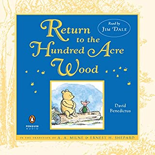Return to the Hundred Acre Wood audiobook cover art