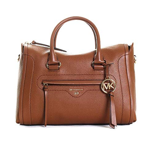 Michael Kors Carine, MD SATCHEL para Mujer, Luggage, Medium