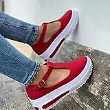CHENtian1 2021 Femmes Sandale tête ronde Women's Sliiper Shoes Fish Mouth Sandals Orthopedic Sandals printemps été hauteur augmenter chaussures mode compensée plate-forme boucle sangle sandales