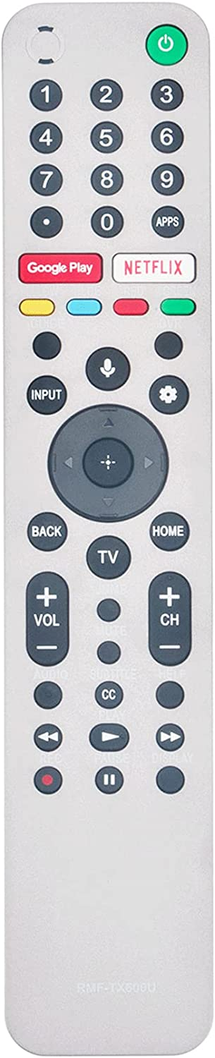 RMF-TX600U Replace Remote Control fit TV XBR- Sony Popular for XBR-77A9G Discount mail order