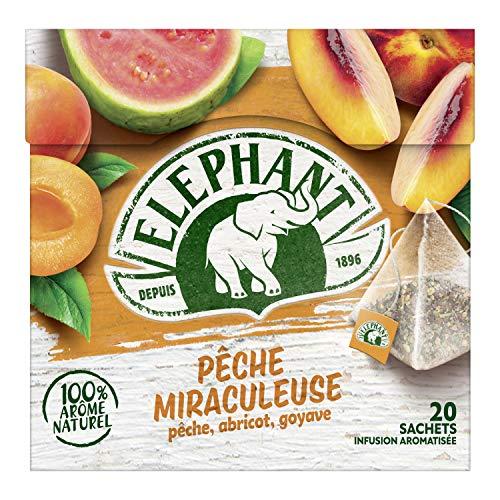 Elephant Infusion Abricot Peche Goyave 20 Sachets 38g