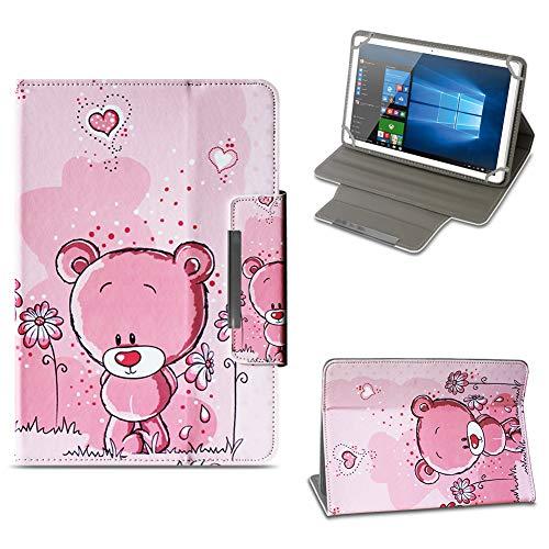 NAUC Archos 101 Platinum 3G Tablet Tasche Hülle Schutzhülle Case Cover Stand Etui Bag, Farben:Motiv 1