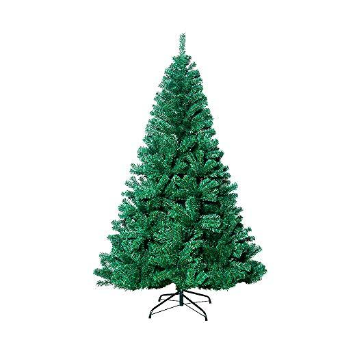 VEYLIN - Árbol de Navidad (2,1 m, 1600 puntas, árbol artificial con soporte de metal)
